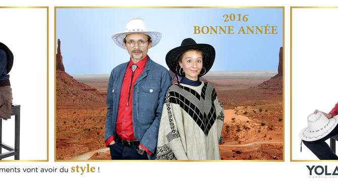 Voeux - En 2016, vos événements vont avoir du style !
