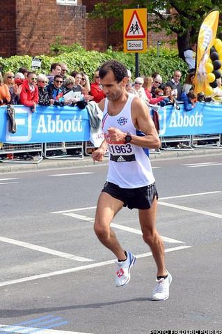 """Exploit de Momo au Marathon de Londres, RFM50 en 2h26'36"""" (58ème, 1er M50)"""
