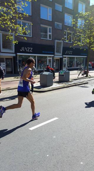 """Marathon de Rotterdam : Momo 2h27'19"""" 65ème, 1er/M50, Record de France et 10ème perf mondia"""