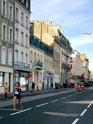 Foulées de la Presse de la Manche : Course des AS (6 km) Victoire de Samira