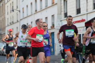 Marathon de Paris : Beaux résultats de Seb 2h41' RP, François 2h44', Stéphane 2h46' RP