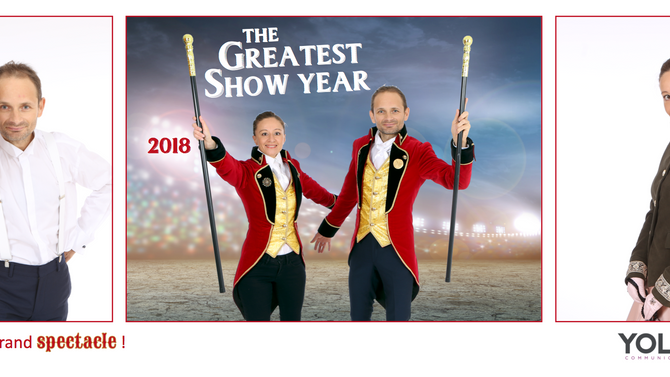 Voeux - 2018 The Greatest Show Year