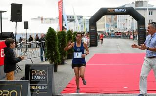 """10km Brest Court : Victoire de Samira en 33'33"""""""