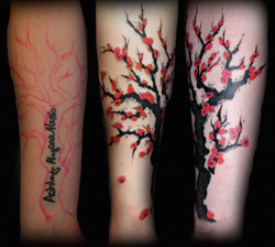 Cherry Tree Watercolor