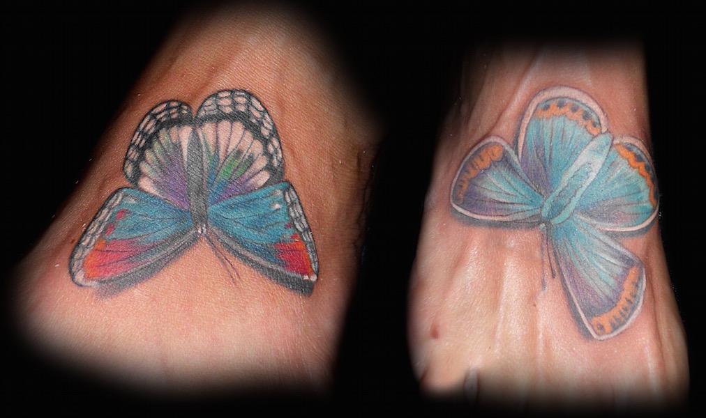 Sister Butterflies