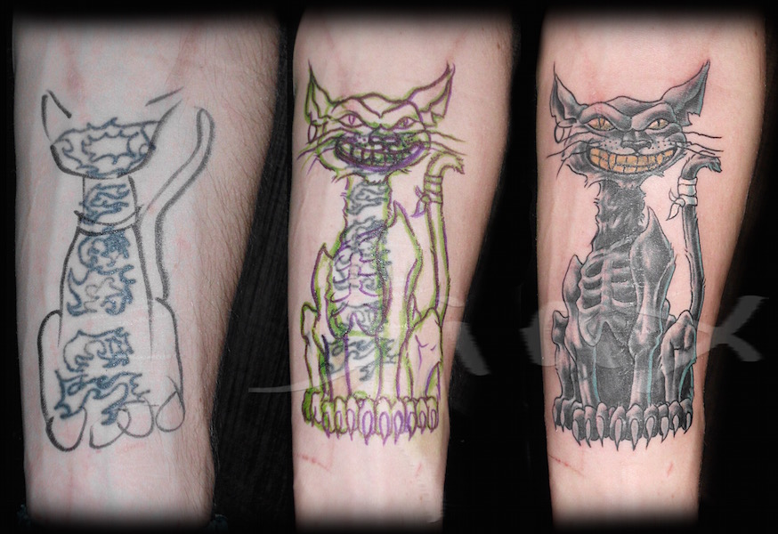 Crazy Cheshire Cat Cover Up