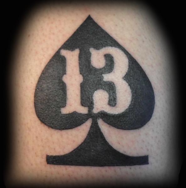 Spade 13