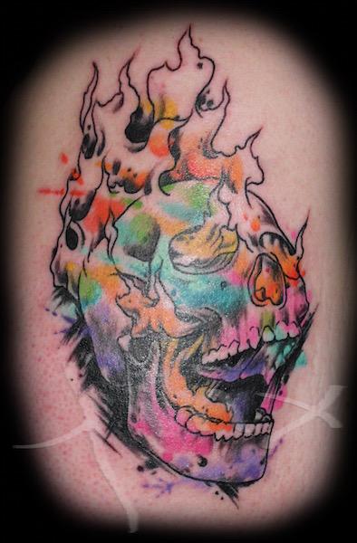 Britt's Skull