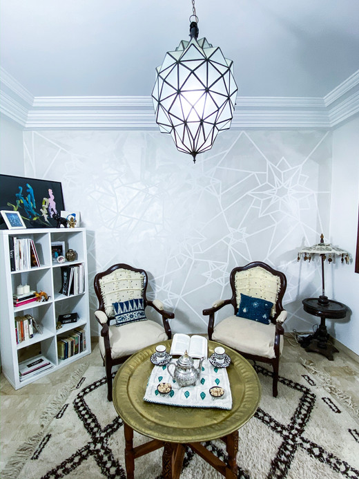 Moroccan Inspired Reading Nook
