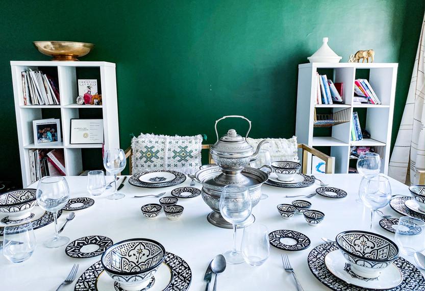 Modern Boho Dining Room