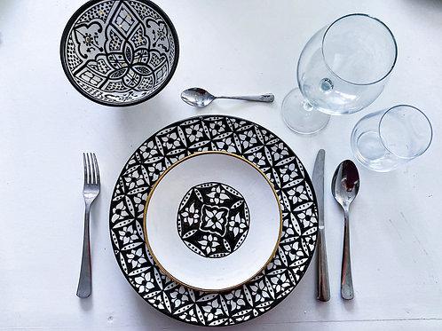 Artisan Dish Set - 24 pieces