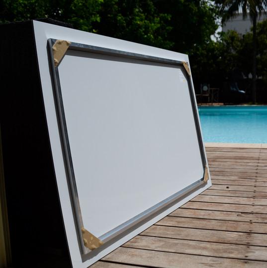 Concealed Aluminum Frame