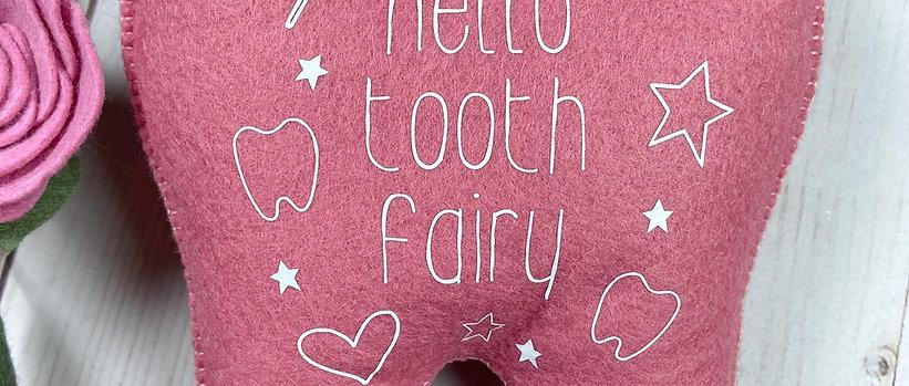 Hello Tooth Fairy Pillow