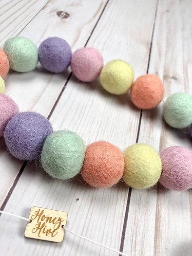 Pastel Rainbow Garland