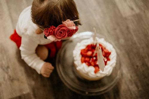 Rose Floral Headband