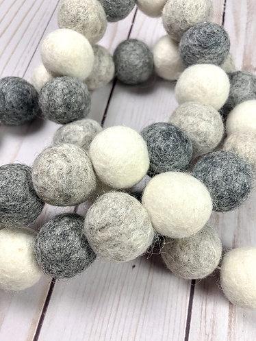Stone Ball Garland