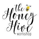 The honey hive workshop logo