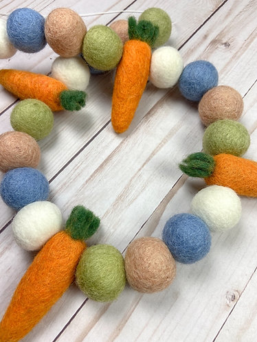 Flopsy, Mopsy & Cottontail Ball Garland