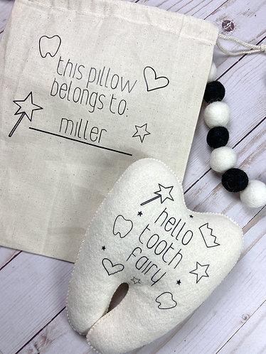 Tooth Pillow Storage Bag