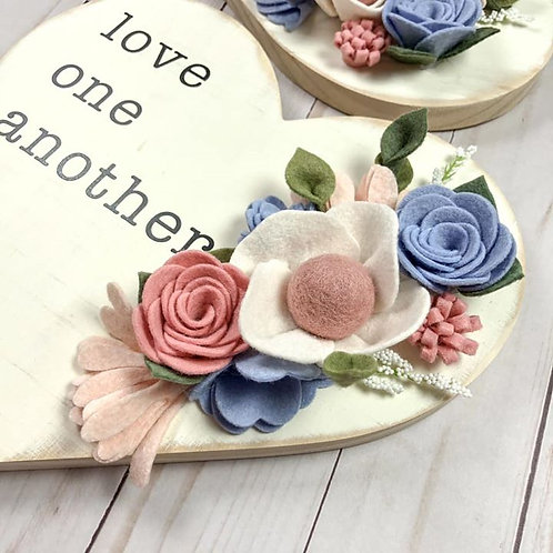 Wooden Heart - Love One Another