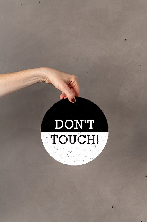 Don't Touch תחתית לסיר