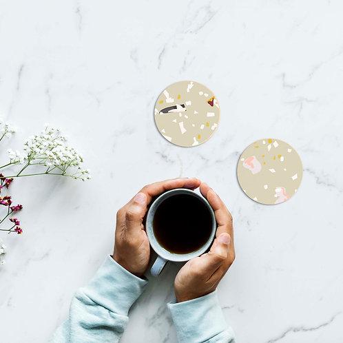 זוג תחתיות טרצו לקפה