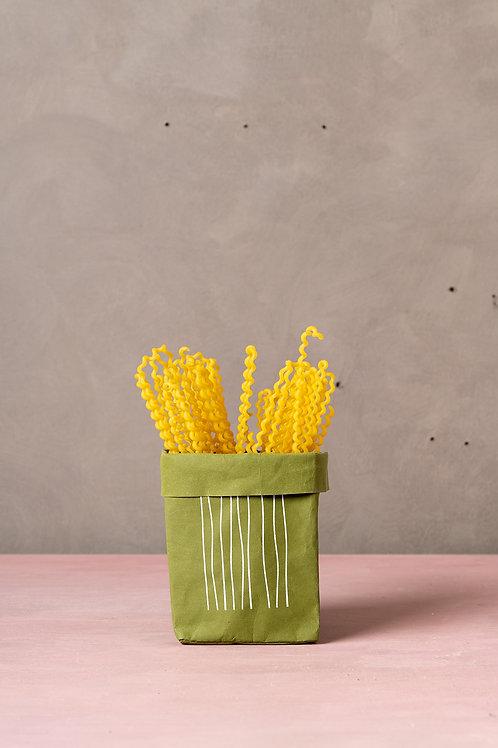 Olive Mini Stripes