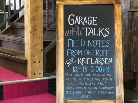 GARAGE TALKS: Field Notes from Detroit