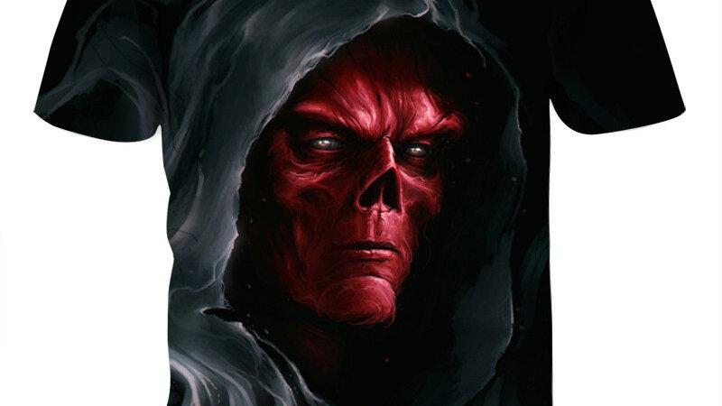 Original 2020 3D Men's Skull Punisher T Shirts