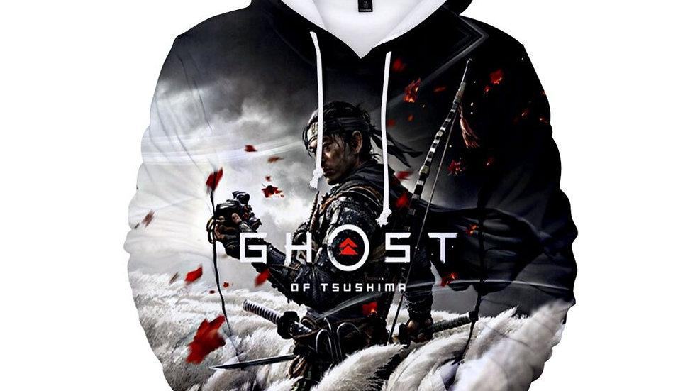 Original Hisoka Cosplay  (Ghost of Tsushima) Hoodie