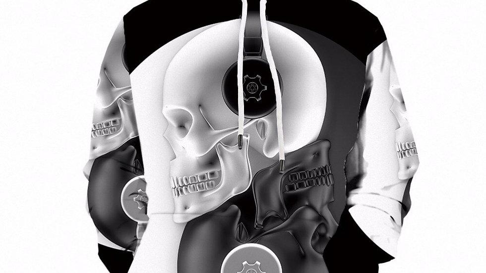 Original KYKU Hoodie Men's Skull Hoodies