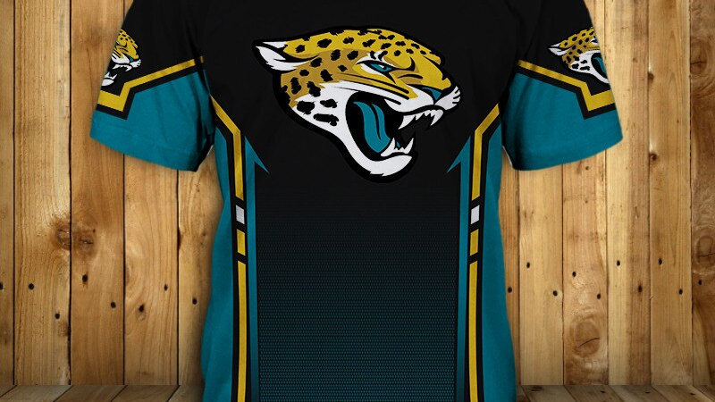 Original Redcats 3D Fashionable Men's Jaguars T shirts