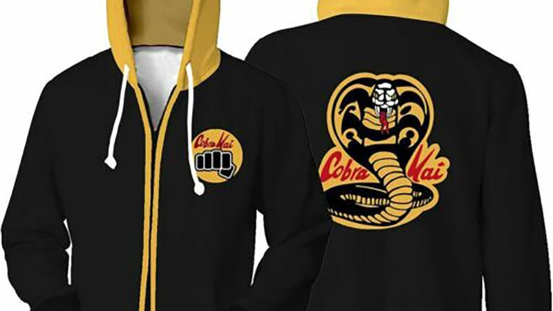 Original Cobra Kai Hoodies