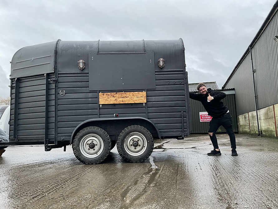rice horse trailer bar conversion