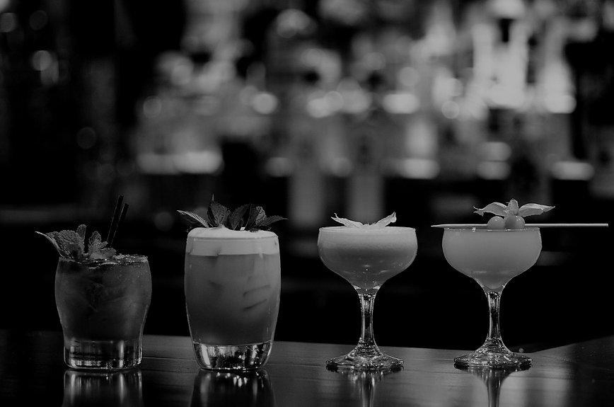 cocktails served from mobile bar