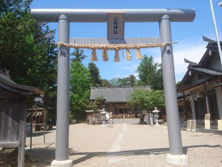 仙台縁結びの神様  二柱神社です