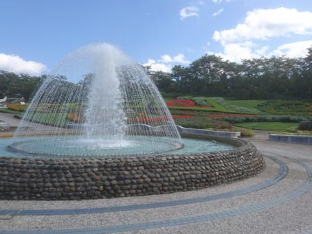 「国営みちのく杜の湖畔公園」