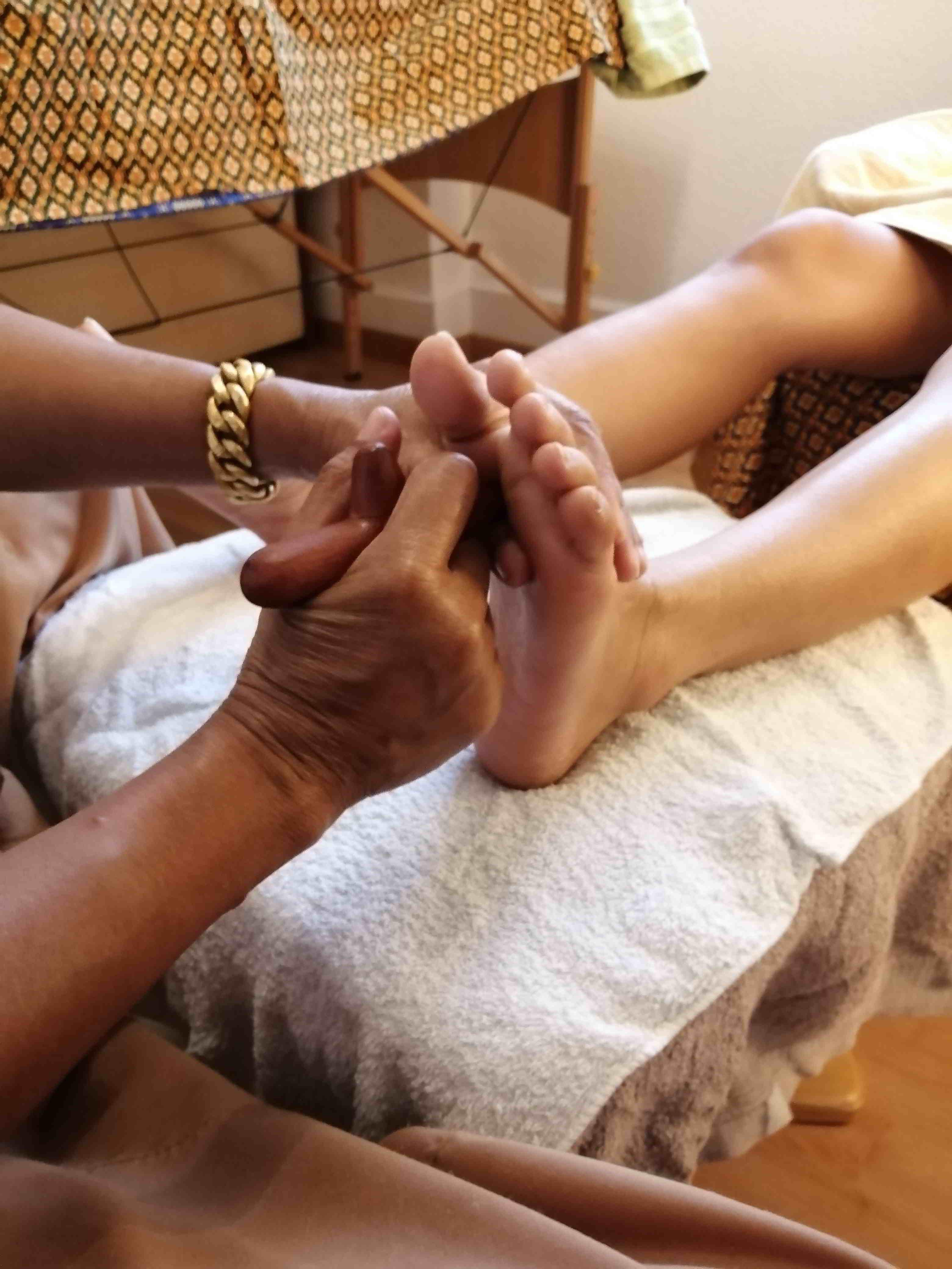 Fussmassage