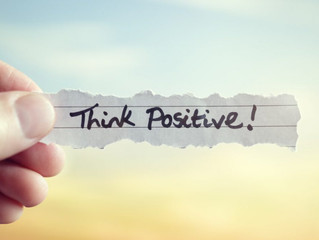 The plus side of positivity!