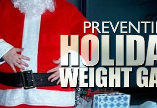 6 ways to survive the holidays and not gain weight!