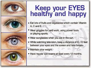 Don't lose sight of diabetes