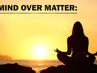 Mindfulness over matter.  Combatting stress through self-awareness.
