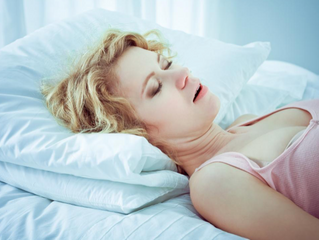 What is a home remedy for snoring?