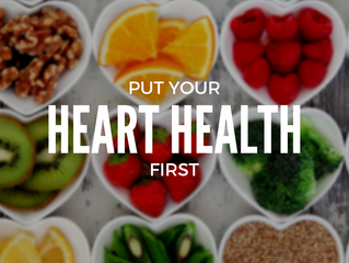Put heart health first. Here's how.