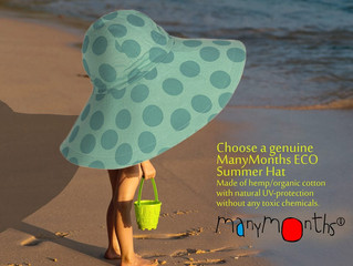 Choose a genuine ManyMonths ECO Summer Hat
