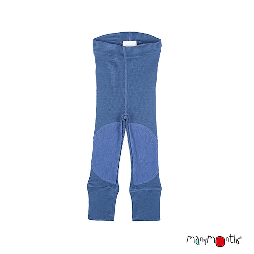 ManyMonths Natural Woollies Unisex Leggings with KneePatches