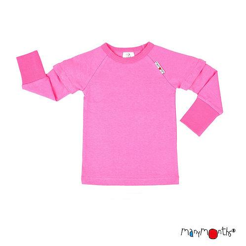 ManyMonths ECO Hempies Top Pink Peony