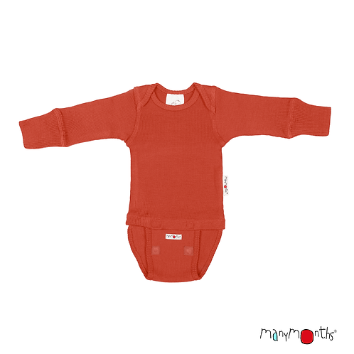 ManyMonths natural Woollies Body/Long Sleeve