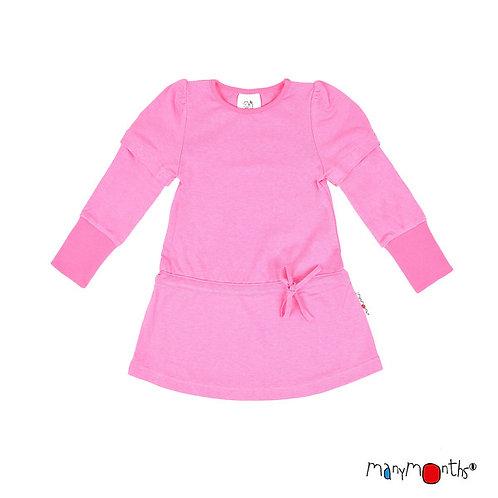 ManyMonths ECO Hempies Tunic Pink Peony