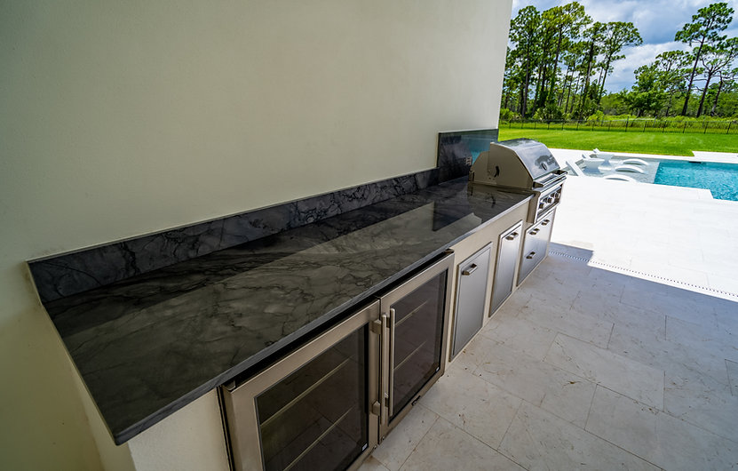 Delray Custom Outdoor Kitchen